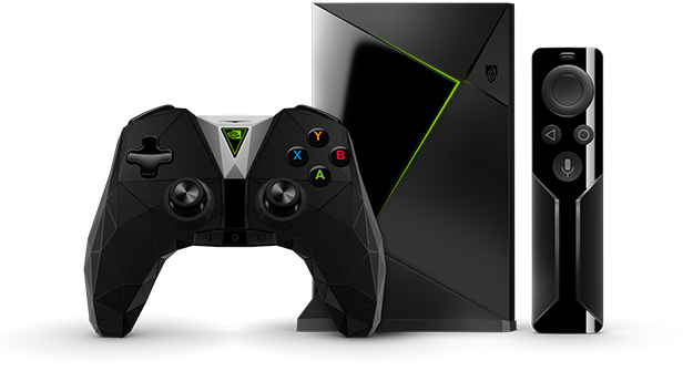 Nvidia Shield Media Player with Remote and Controller