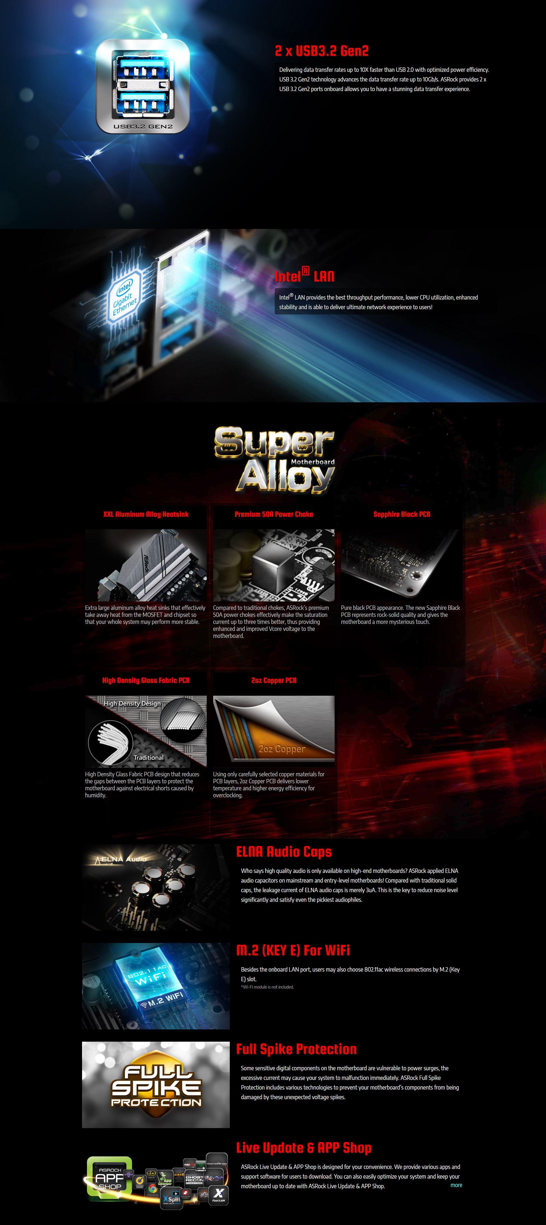 ASRock X570 Phantom Gaming 4 AM4 ATX Motherboard