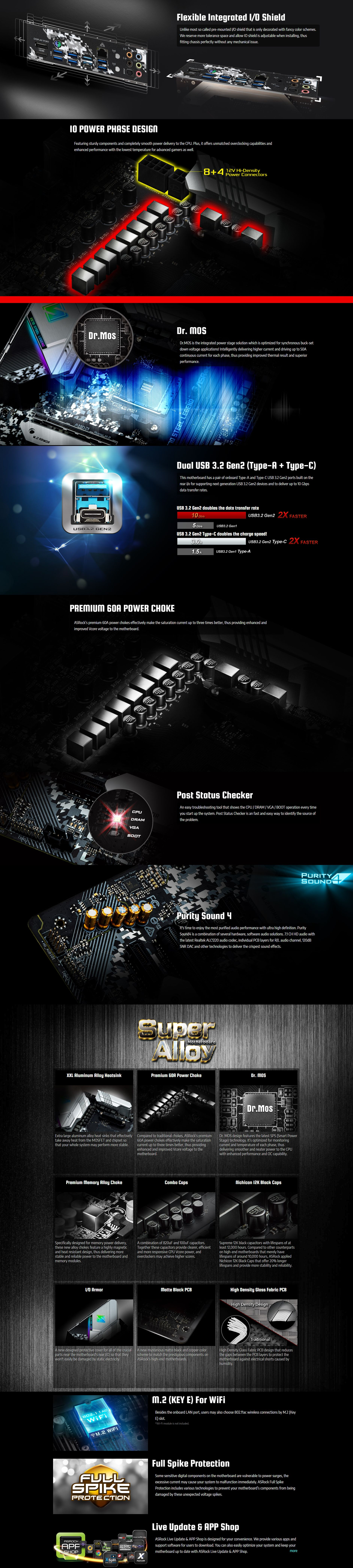 ASRock X570 Steel Legend AM4 ATX Motherboard