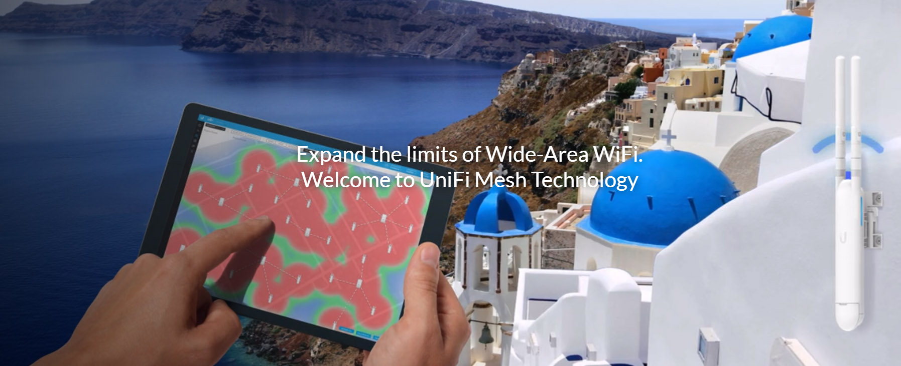 Ubiquiti UniFi AP AC Outdoor Mesh 1167Mbps, dual-omni antenna