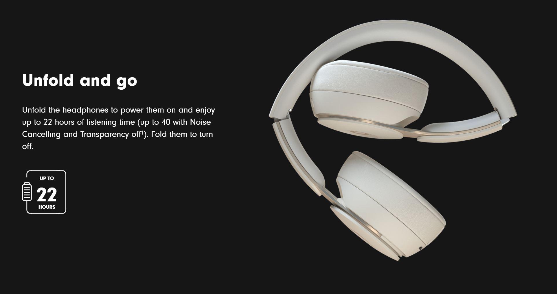 Beats Solo Pro Wireless Noise Cancelling Headphones Black Umart Com Au