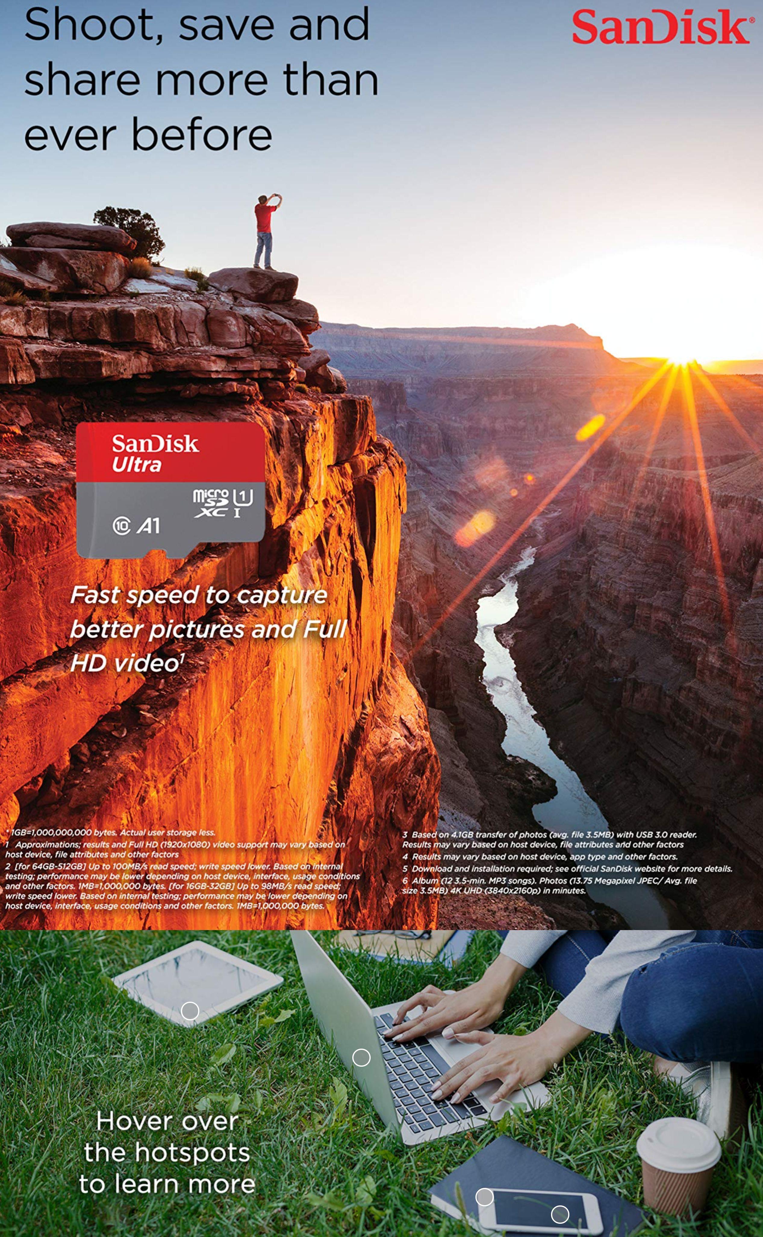 #1582 - 'Amazon_com_ SanDisk 128GB Ultra microSDXC UHS-I Memory Card with Adapter - C10, U1, Full HD, A1, Micro SD Card - SDSQUAR-1_' - www_amazon_com.jpg