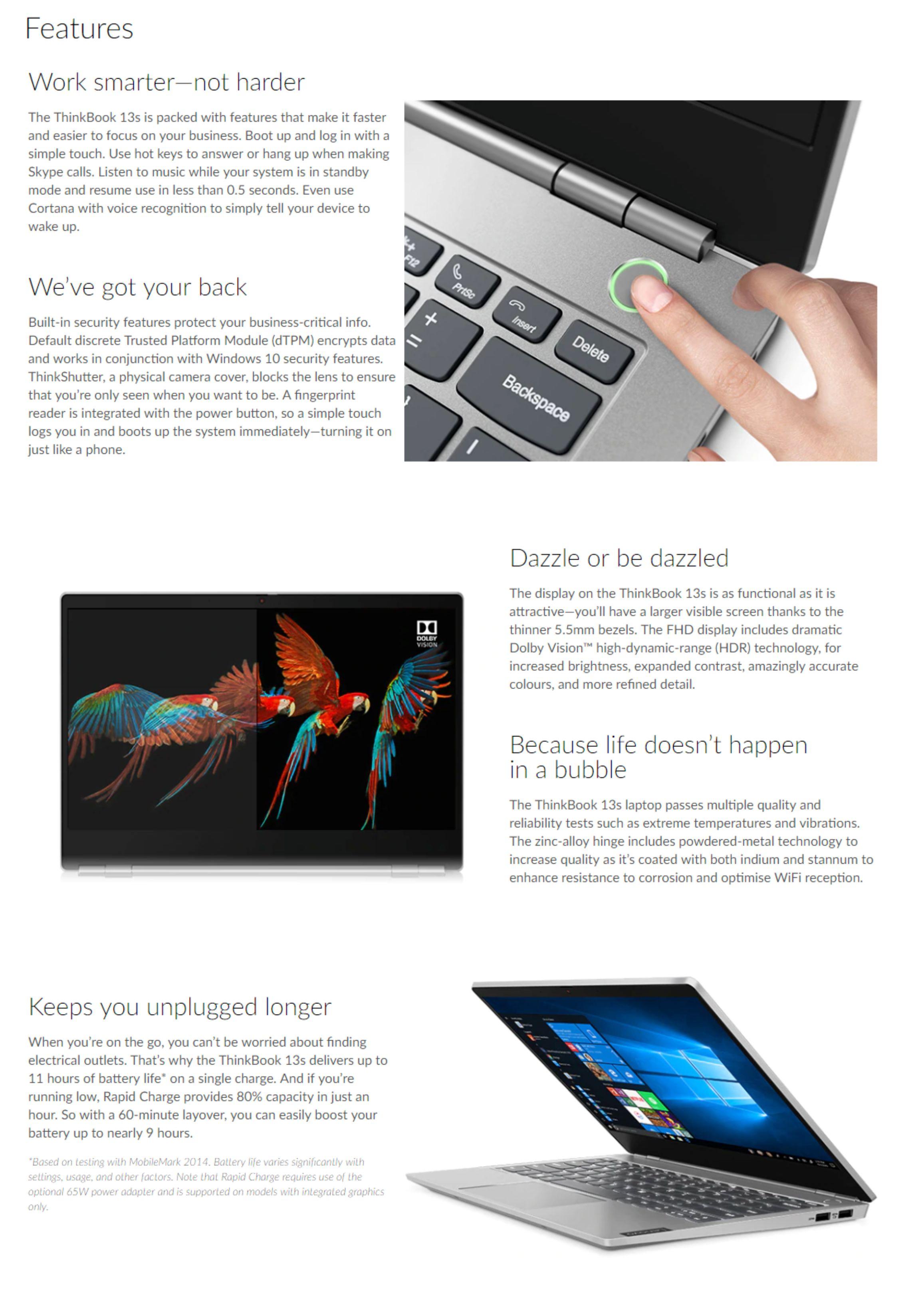 #1597 - 'Lenovo ThinkBook 13s 13_3inch FHD IPS AG i7-8565U 16GB 512GB SSD UHD 620 WLAN BT FP HD CAM W10Pro - Umart_com_au' - www_umart_com_au.jpg
