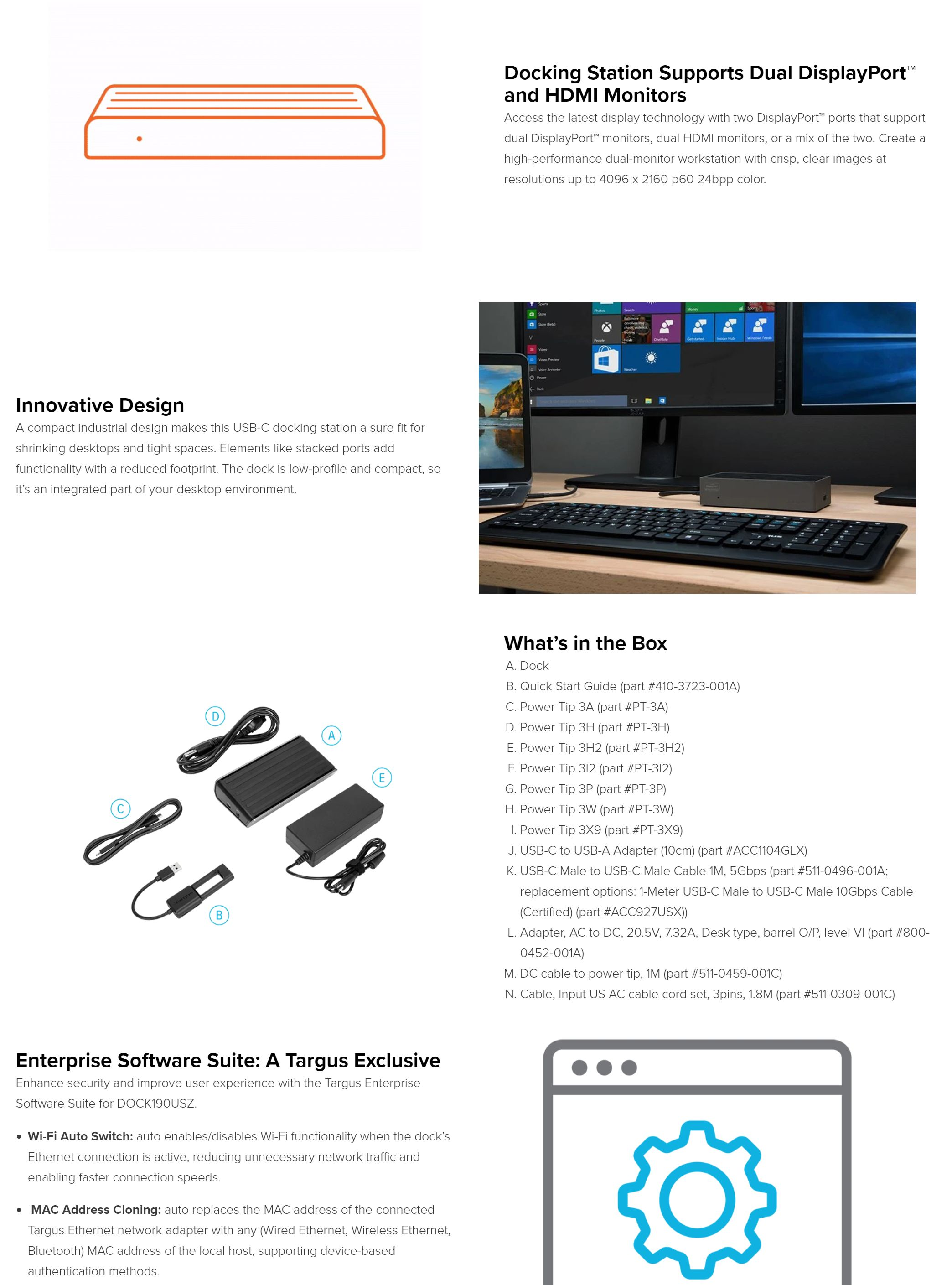 #1758 - 'Targus USB-C Universal Dual Video 4K Docking Station with 100W Power – Targus Australia' - au_targus_com.jpg