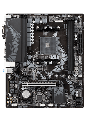 Gigabyte B550M Gaming AM4 mATX Motherboard