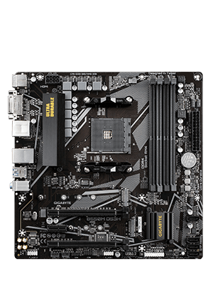 Gigabyte B550M DS3H AM4 mATX Motherboard