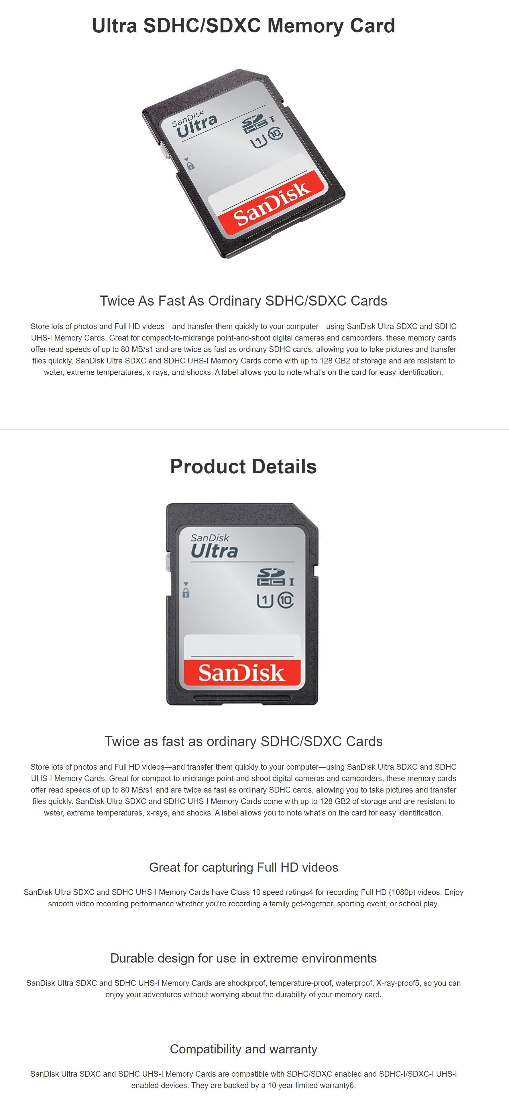 #1830 - 'SanDisk Ultra 32GB SDHC Class 10 U1 Memory Card - 90MB_s - SDSDUNR-032G I Mwave_com_au' - www_mwave_com_au.jpg