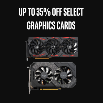 Up To 35% Off Select GPUs