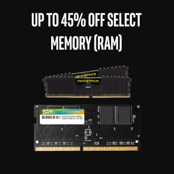 Up To 45% Off select RAM