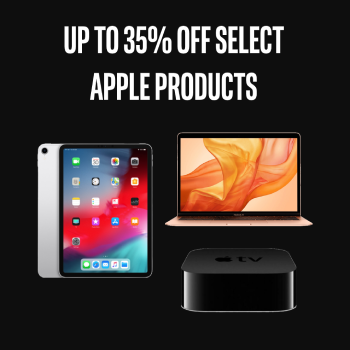 Up To 35% Off Select Apple Products