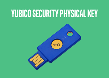 Yubico Security Key Physical 2-Factor Authentication