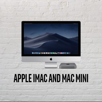 Apple iMac and Mac Minis