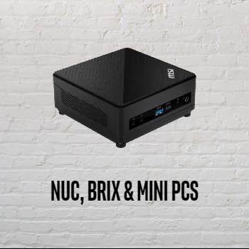 NUC, Brix & Mini PCs