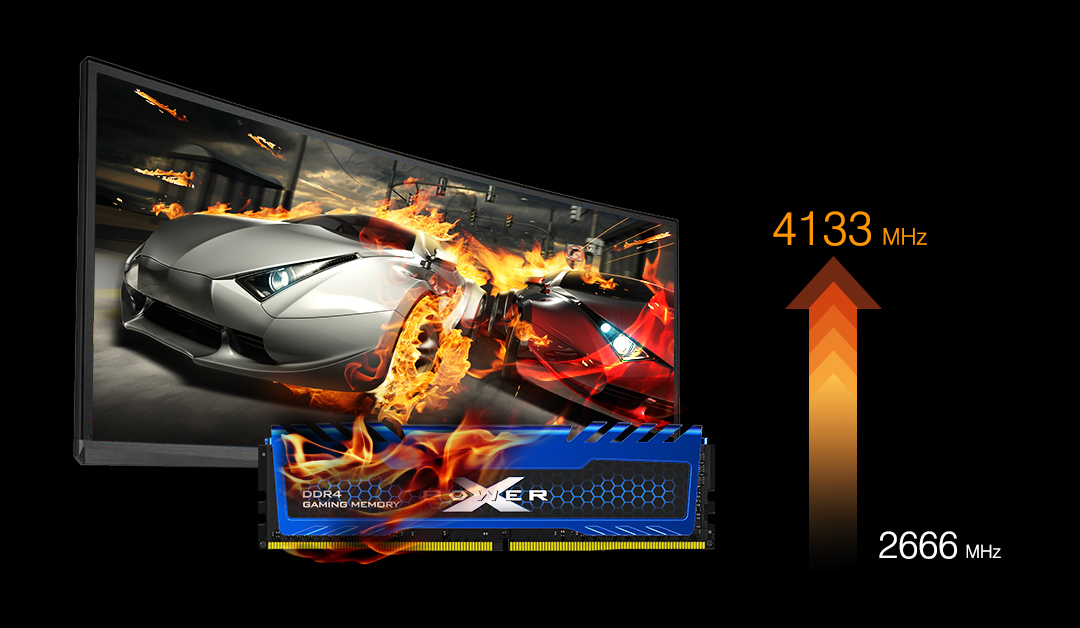 XPOWER Turbine<br> DDR4 Gaming Memory Module Overcome Adversity with XPOWER
