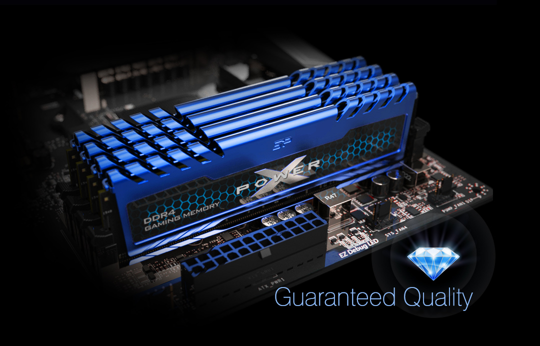 XPOWER Turbine<br> DDR4 Gaming Memory Module Luck Favors The Cool