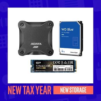 New Tax Year, New Storage