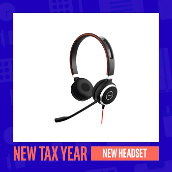 New Tax Year, New Headset