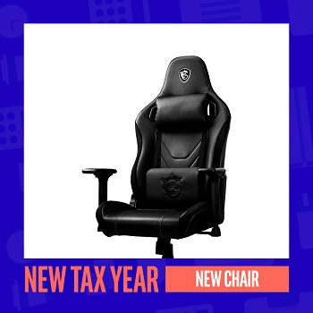 New Tax Year, New Chair