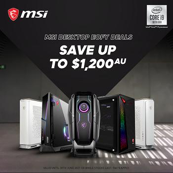 MSI Desktop Deals