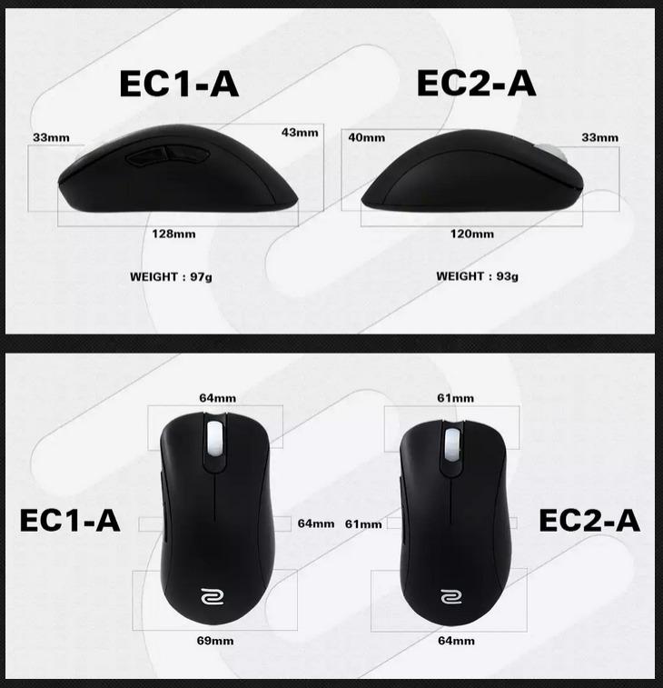 Zowie Ec2 A Gaming Mouse Umart Com Au
