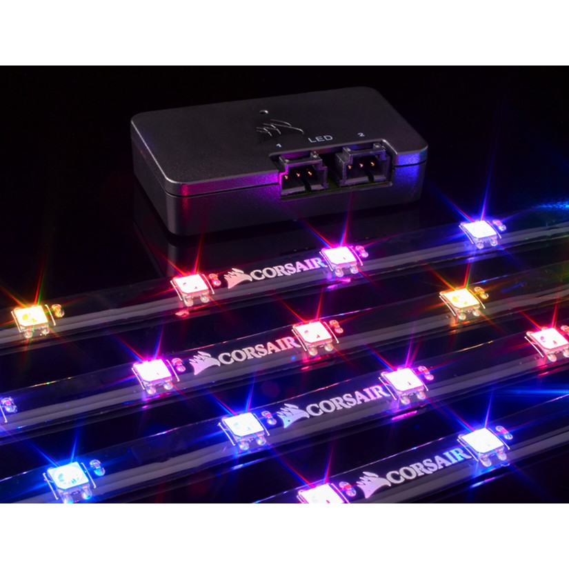 Corsair Lighting Node Pro RGB Controller And LED Strips