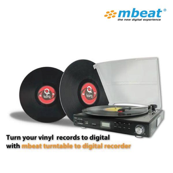 Mbeat USB TR09 Turnable With USB/SD Recording