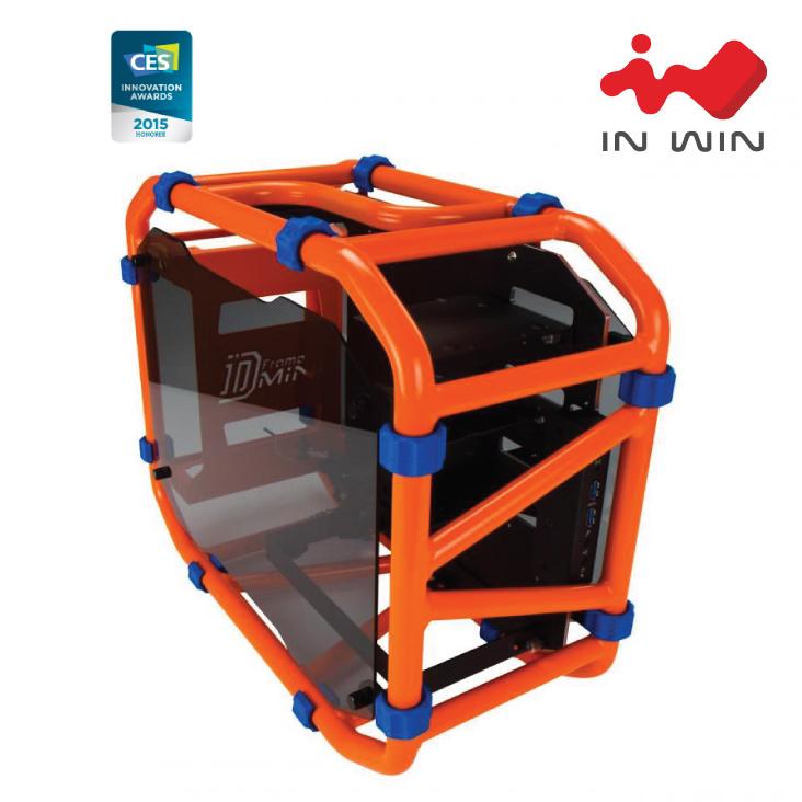 INWIN D-FRAME MINI MINI-ITX TOWER ORANGE - Umart.com.au