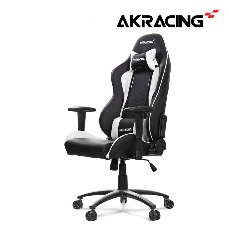Akracing Nitro Series Office Gaming Chair Black White