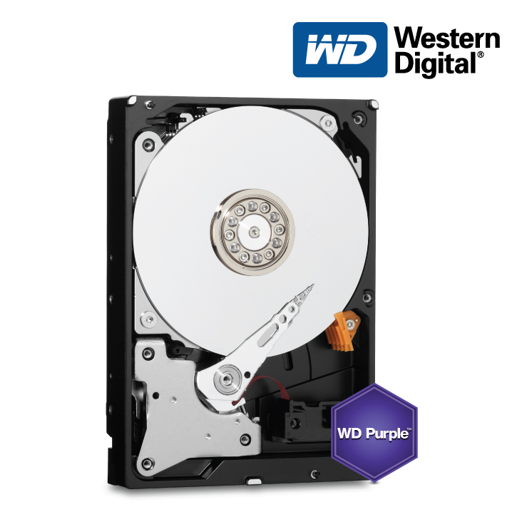 Western Digital Purple NV 4TB 3 5 64MB,SATA III 3yrs warranty
