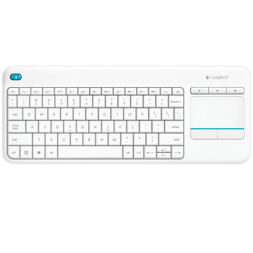 fe16c51d9b6 Logitech K400 Plus Wireless Touch Keyboard White - Umart.com.au