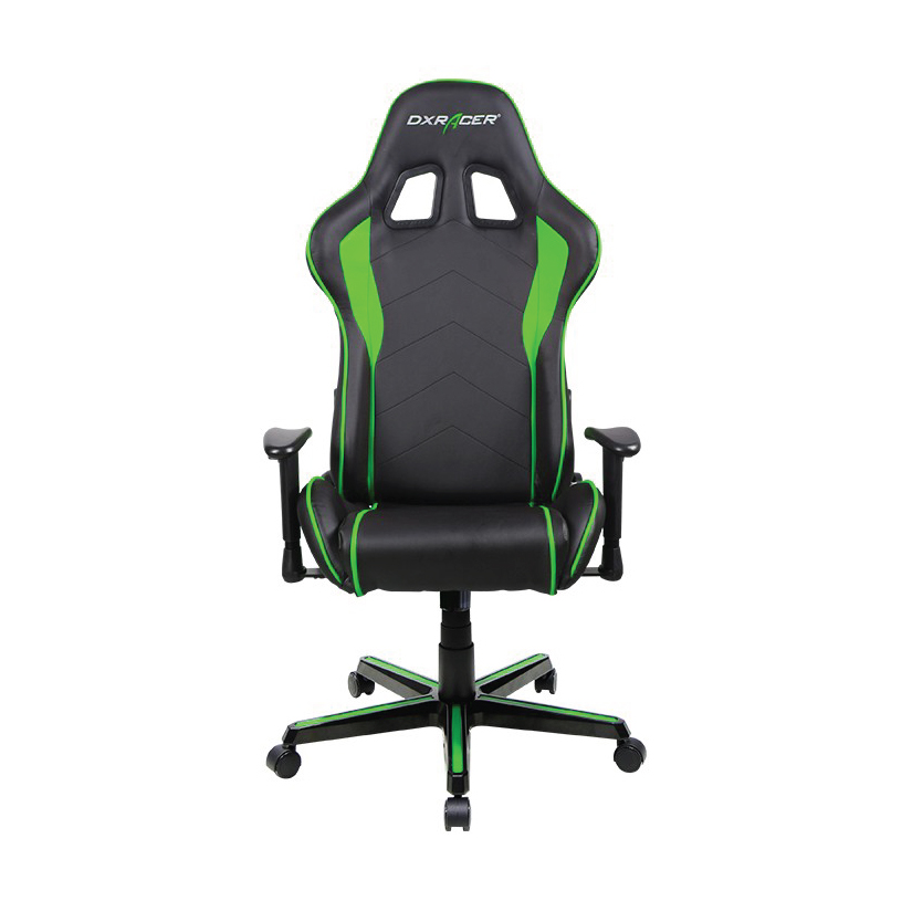 DXRacer F Series Gaming Chair, Sparco Style, Neck/Lumbar Support   Black U0026