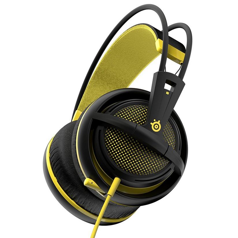 96dcd41dd9b SteelSeries 51138 Siberia 200 Full Size Multipurpose Gaming Headset - Yellow