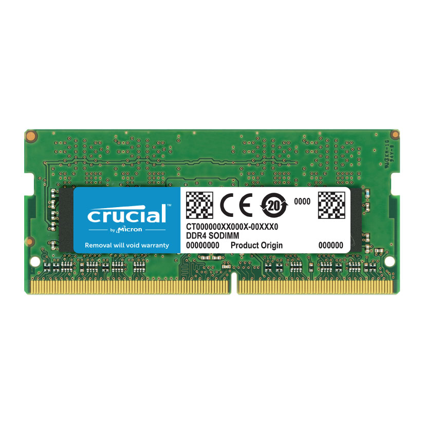 Crucial Technology 8GB 260-Pin SODIMM DDR4 2400MT//s PC4-19200 Memory Module