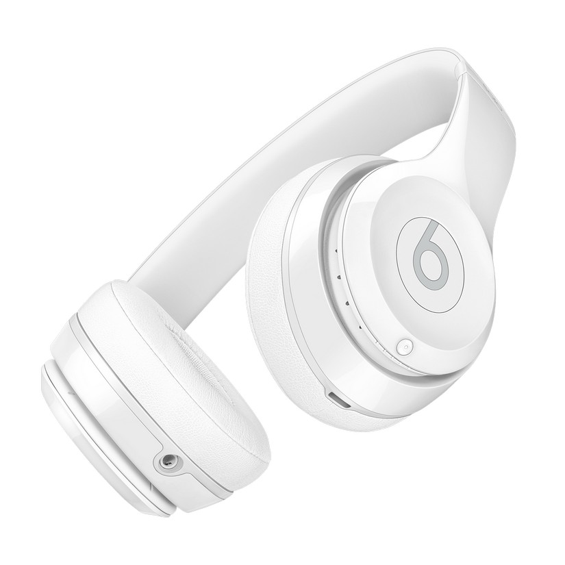 Beats by Dre Solo 3 Wireless Headphones Gloss White