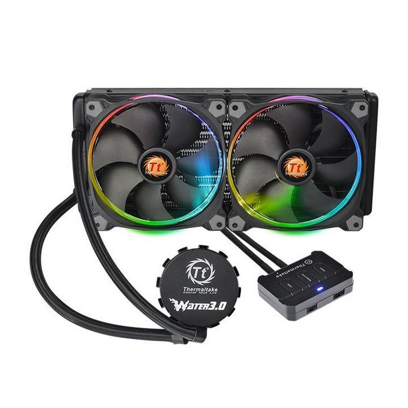 Thermaltake Water 3 0 Riing RGB 280mm AIO Liquid CPU Cooler