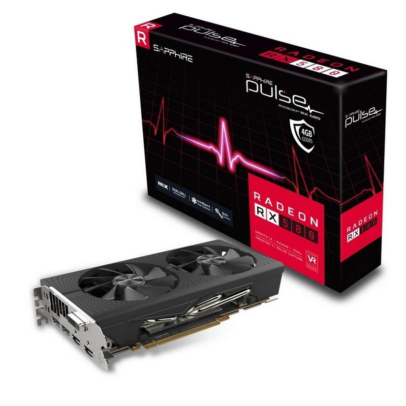 Sapphire Radeon RX 580 4G Pulse Gaming Graphics Card