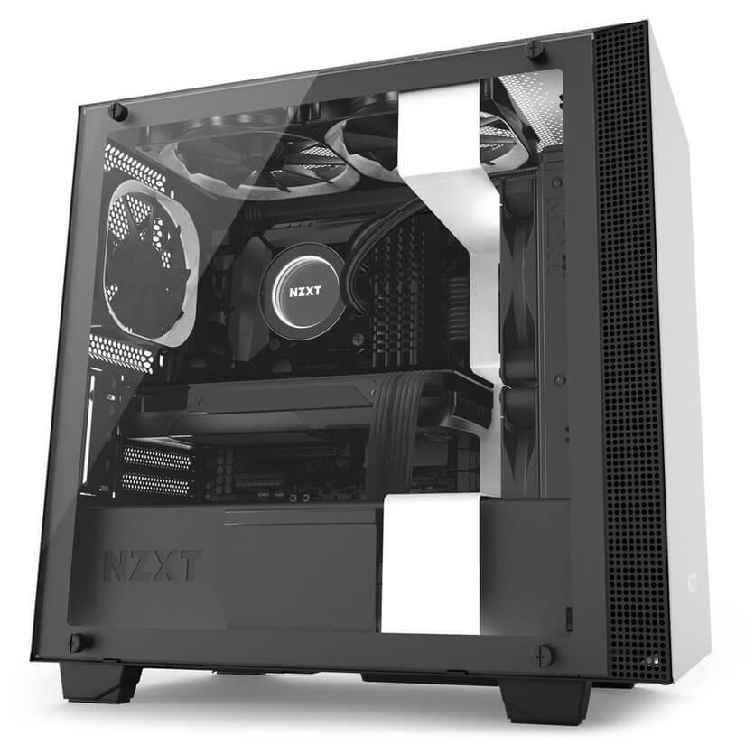 ZDEL NZXT H400i USB3.1 Matte White mATX Case