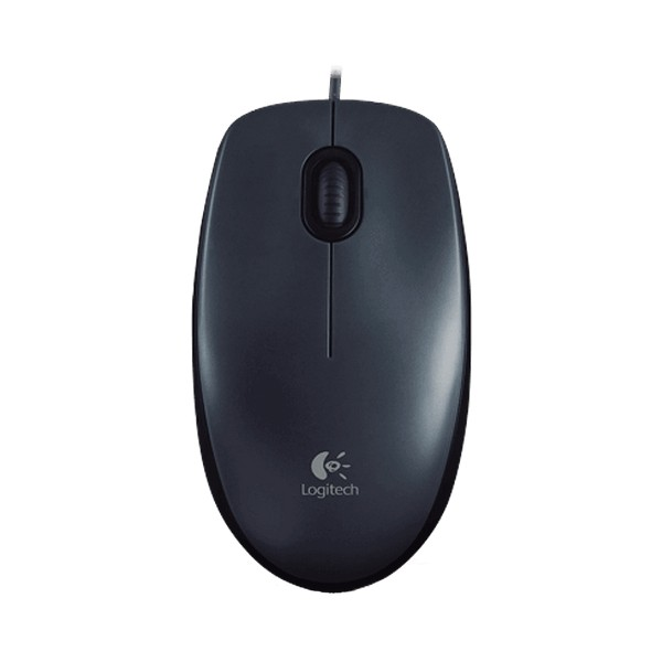 Logitech M100R Wired Optical Mouse