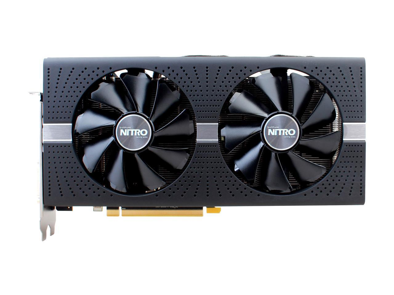 Sapphire Radeon RX 580 8G NITRO+ OC Gaming Graphics Card