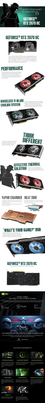 Galax GeForce RTX 2070 8G OC Graphics Card