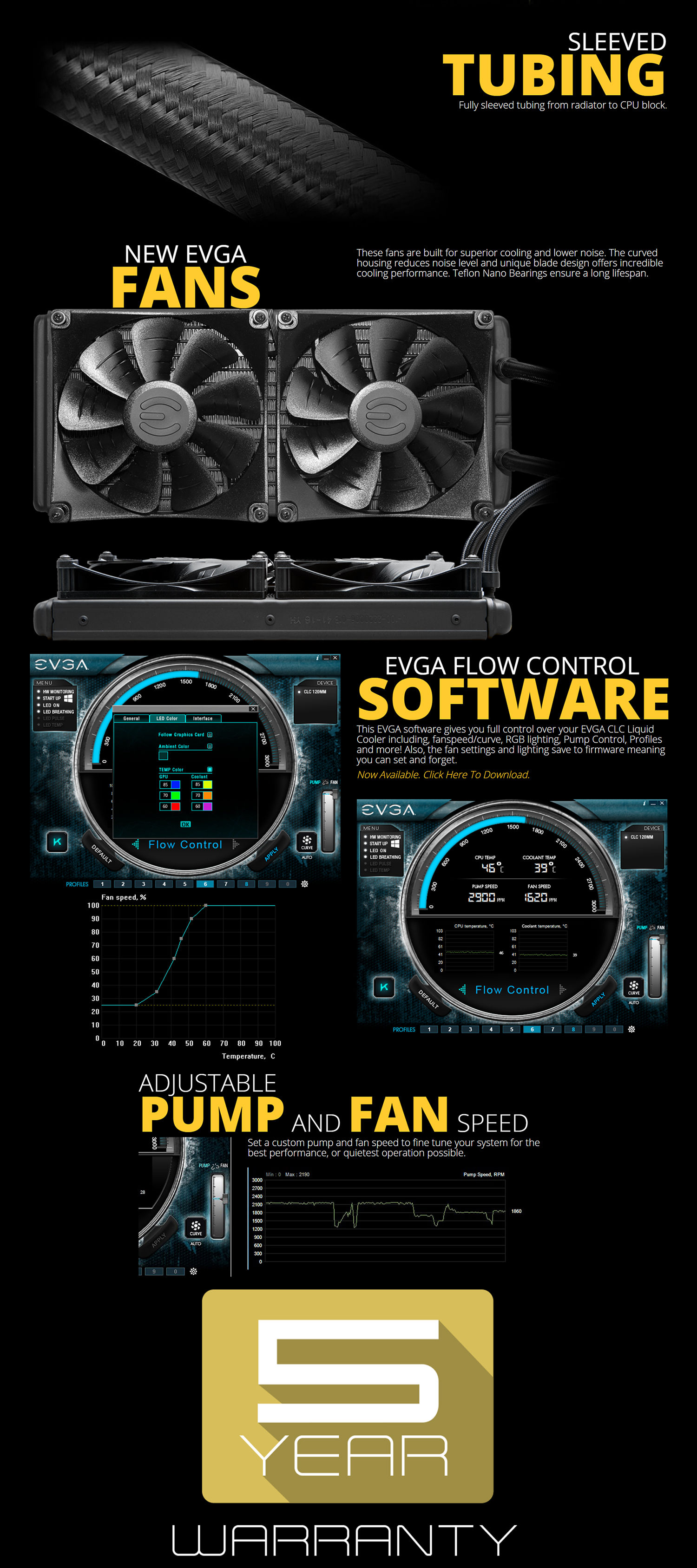 EVGA CLC 240 Liquid CPU Cooler