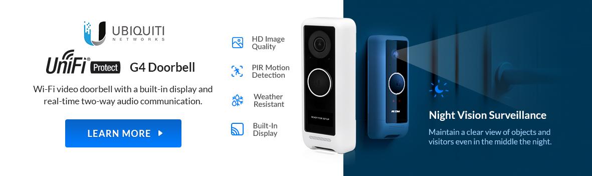 Ubiquiti G4 Doorbell