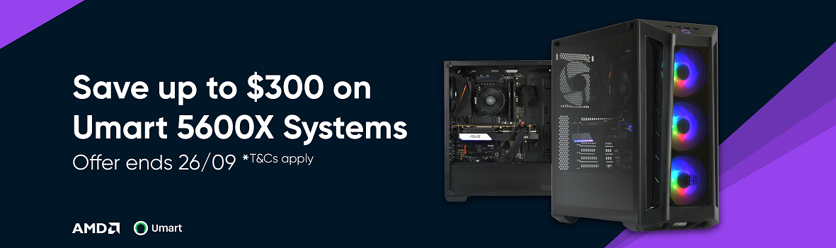 Buy this AMD 5600X System and get a $300 discount