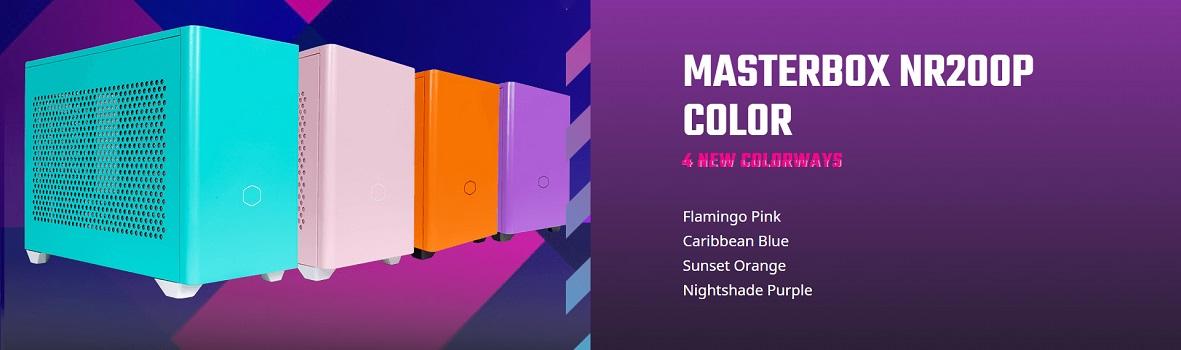Cooler Master NR200P Colour Variants