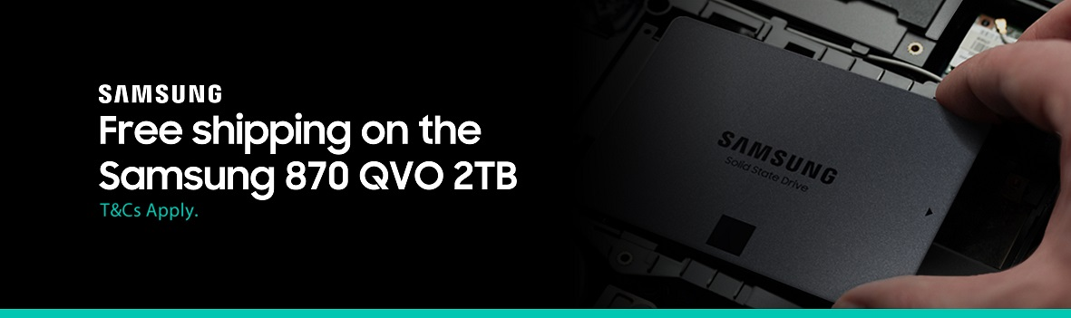 Get free shipping on the 870 QVO 2TB