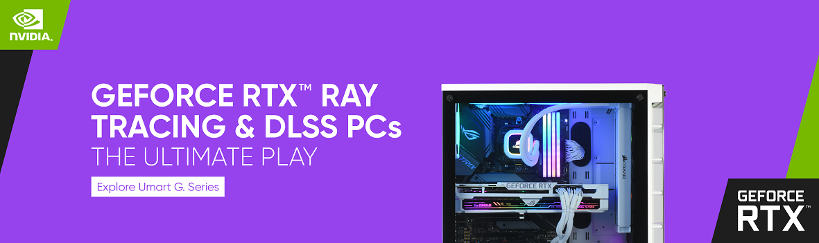 Check out the GEFORCE RTX Ray Tracing & DLSS PCs!
