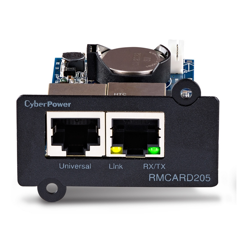CyberPower SNMP Card to Suites PRO Series UPS and ENVIROSENSOR -(RMCARD205)