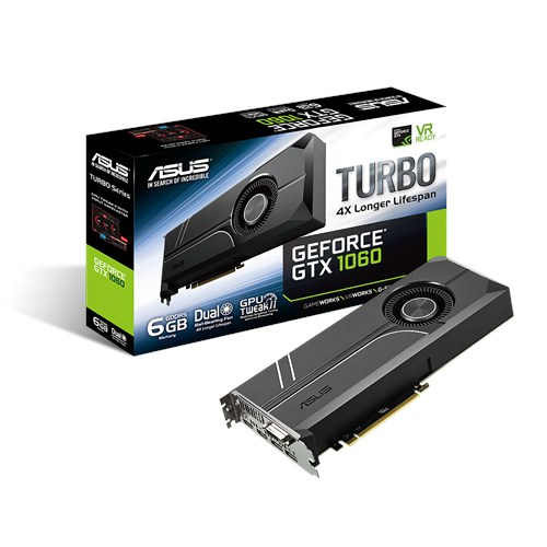 Asus GeForce GTX 1060 Turbo 6GB Video Card