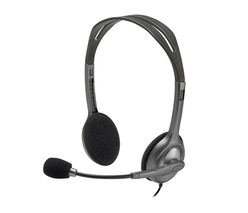 Logitech H110 On Ear Stereo Headset