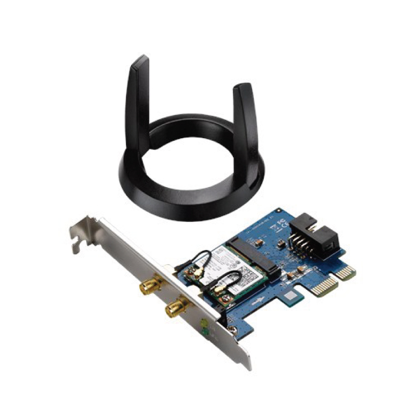 Asus PCE-AC55BT Wireless PCIE and Bluetooth Adapter